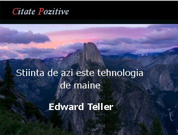 Edward Teller Citate Pozitive