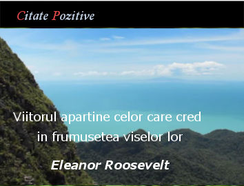 Eleanor Roosevelt Citate celebre